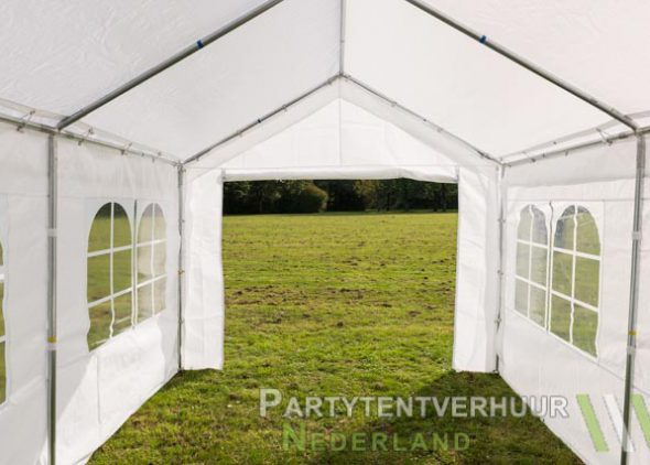 Partytent 3x4 meter binnenkant huren - Partytentverhuur Hoofddorp