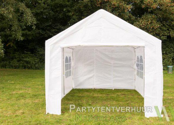 Partytent 3x4 meter voorkant huren - Partytentverhuur Hoofddorp