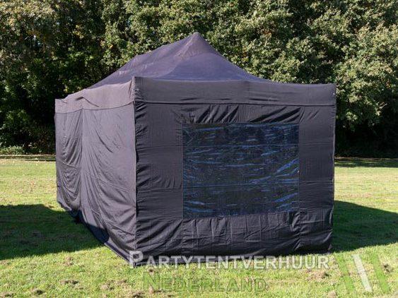 Easy up tent 3x6 meter achterkant huren - Partytentverhuur Hoofddorp