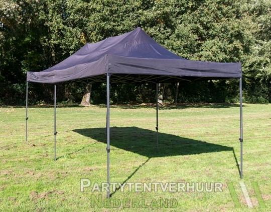 Easy up tent 3x6 meter schuin voorkant huren - Partytentverhuur Hoofddorp