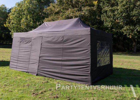 Easy up tent 3x6 meter zijkant huren - Partytentverhuur Hoofddorp