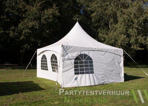 Pagodetent 5x5 meter voorkant huren - Partytentverhuur Hoofddorp